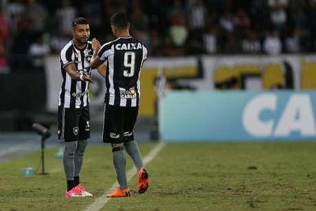 Aguirre entrou no lugar de Brenner no Clássico Vovô do Nilton Santos (Vítor Silva/SSPress/Botafogo)