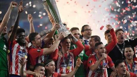 Atlético de Madrid é campeão da Liga Europa (Foto: AFP)