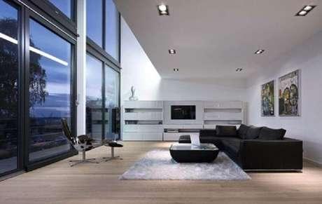 42. Decoração de casas minimalistas