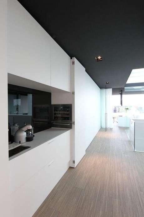 35. Decoração minimalista para cozinha moderna