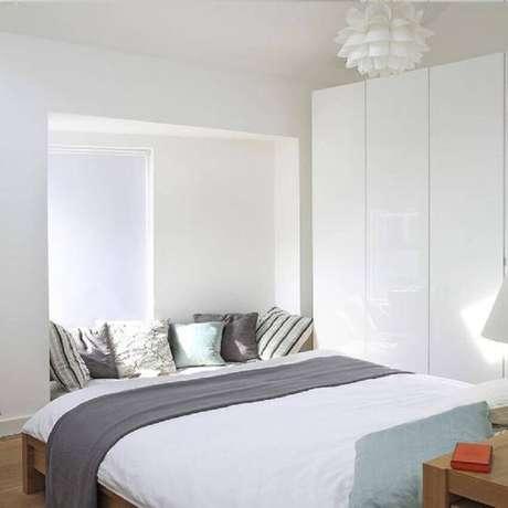 37. Decoração de quarto minimalista