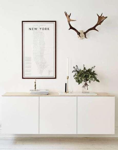 61 Detalhes de decoração com quadros minimalistas