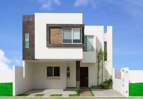 1. Fachada de casas minimalistas