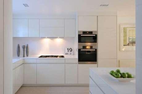 51. Minimalismo para decoração de cozinha clean