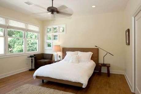 34. Minimalismo para decoração de quarto de casal