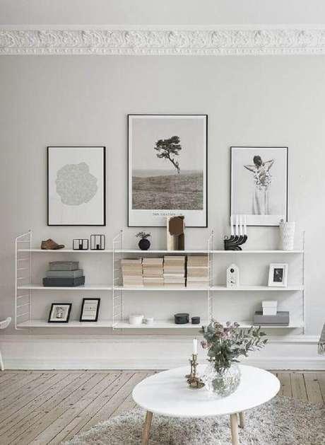 38. Modelos de quadros minimalistas para decoração de casas