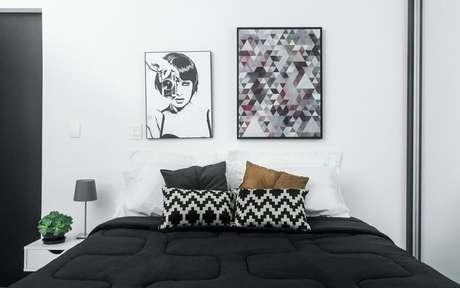 60. Modelos de quadros minimalistas para decoração de quarto