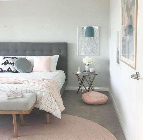 59. Pendente para decoração de quarto minimalista