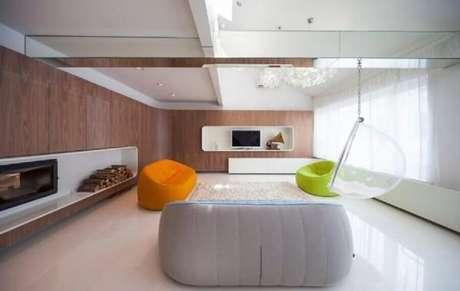6. Saiba inserir cores em ambientes com decoração minimalista