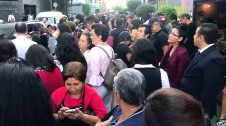 Prédios foram evacuados na Cidade do México