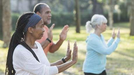 Atividades físicas também podem ajudar na interação social