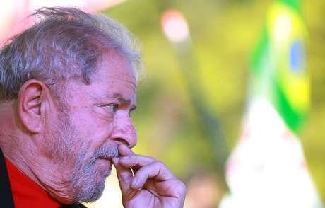 Lula, durante evento em Santana do Livramento, Rio Grande do Sul 19/3/2018 REUTERS/Diego Vara