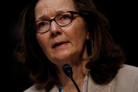 Gina Haspel durante audiência de confirmação como diretora da CIA  9/5/2018     REUTERS/Aaron P. Bernstein