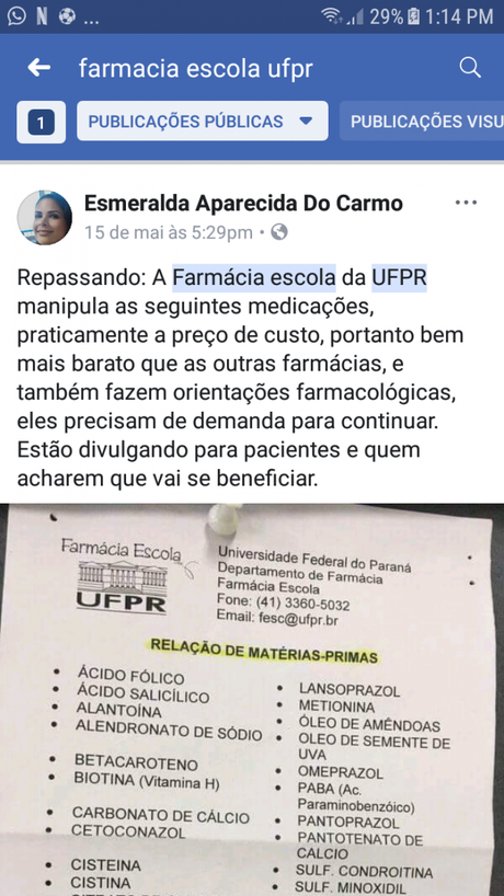 Fakenews compartilhada por redes sociais alertava para fechamento do local (Foto: Captura/Facebook)