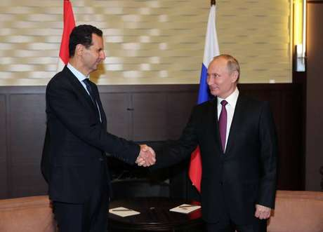 """Líderes aliados debateram a """"retomada"""" da economia da Síria"""