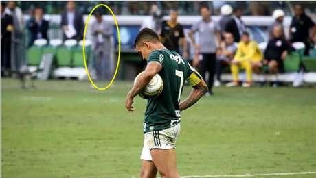 Palmeiras teve pedido no STJD indeferido; caso continua (Foto: Reprodução)