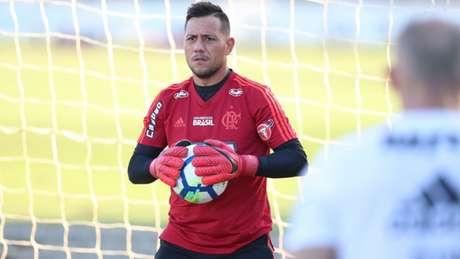 Diego Alves: foto total nas vitórias (Foto: Gilvan de Souza/Flamengo)