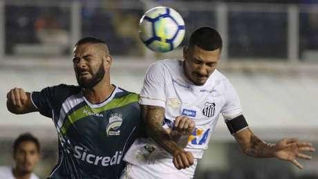 No jogo de ida do confronto, o Santos goleou o Luverdense por 5 a 1, na Vila Belmiro (Foto: Ale Vianna/Eleven)
