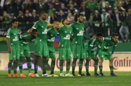 Chape derrotou o Atlético-MG nos pênaltis após o empate em 0 a 0 no tempo normal (Foto: Divulgação/Chapecoense)