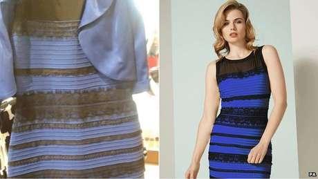 O vestido que causou furor na internet há três anos. Você vê azul ou dourado?