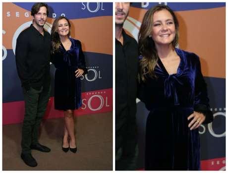 Adriana Esteves e o marido Vladimir Brichta (Fotos: Daniel Pinheiro/AgNews)