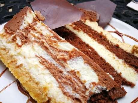 Torta marmorizada