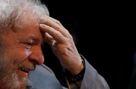 Lula, em evento no Rio 2/4/2018  REUTERS/Ricardo Moraes