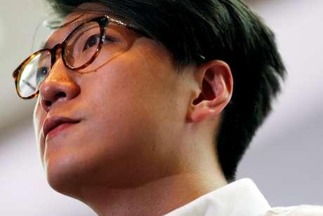 Ativista de Hong Kong Edward Leung 02/08/2016 REUTERS/Tyrone Siu