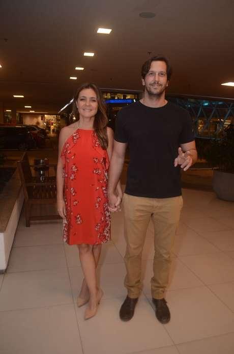 Adriana Esteves e Vladimir Britcha (Foto: Danie