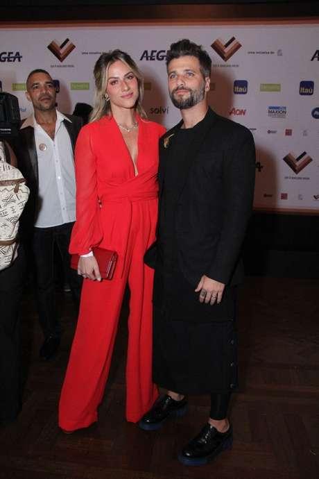 Giovanna Ewbank e Bruno Gagliasso (Foto: AgNews)