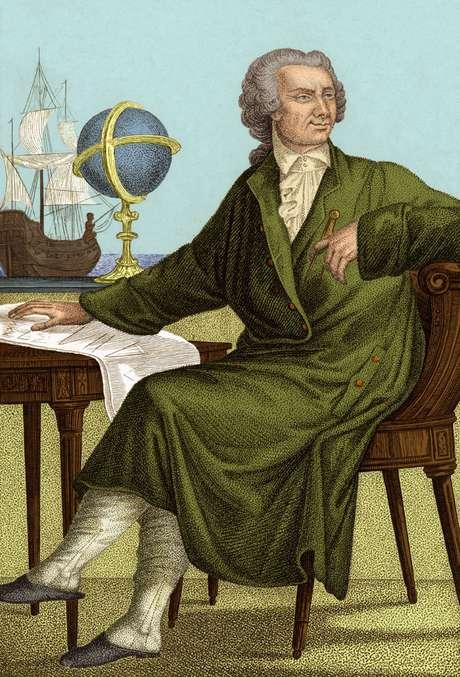 O matemático e físico suiço Leonhard Euler (1707-1783) fez descobertas em geometria, trigonometria, álgebra, teoria de números, física e teoria lunar, entre outros