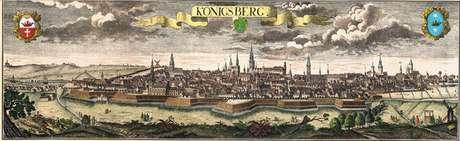 A cidade de Königsberg tinha um passatempo aos domingos que chamou a atenção do matemático