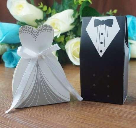 4. Há várias maneiras de fazer uma lembrancinha de casamento simples