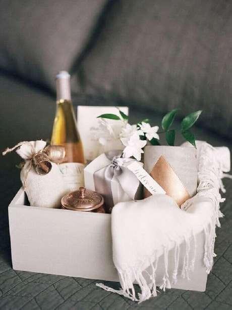 14. Kits de SPA podem se tornar lindas lembrancinhas para padrinhos de casamento