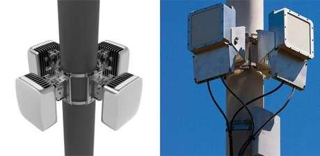 Estações de distribuição de sinal do Terragraph (Imagem: Facebook)