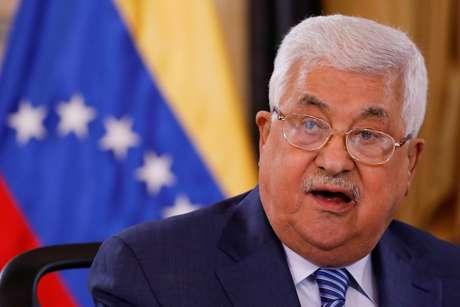 Abbas fala em Caracas  7/5/2018   REUTERS/Carlos Garcia Rawlins