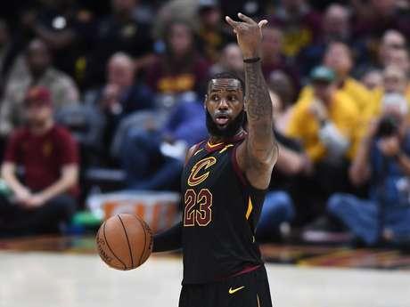 Lebron James, o astro do Cleveland Cavaliers