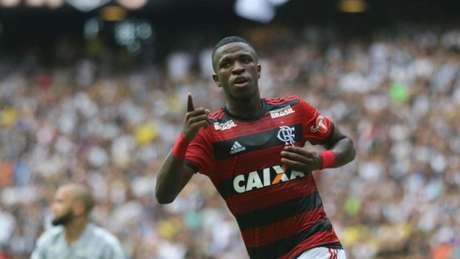 Vinícius Júnior pode se despedir do Flamengo, na Copa Libertadores (Foto: Gilvan de Souza/Flamengo)