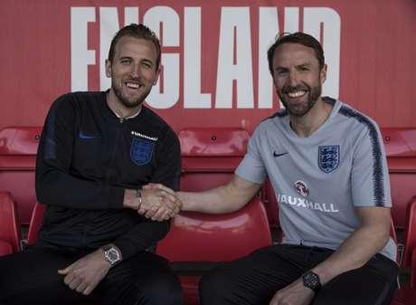 Harry Kane será o capitão da Inglaterra na Copa do Mundo (Foto Reprodução / Twitter)