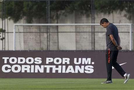 Carille aceitou o Corinthians e deixará o Corinthians (Foto: Daniel Augusto Jr)