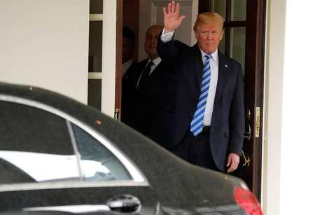 Presidente dos Estados Unidos, Donald Trump 16/05/2018  REUTERS/Jonathan Ernst