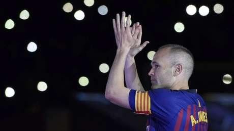 De saída do Barcelona, Iniesta deve ser jogador do Vissel Kobe, do Japão (Foto: AFP)