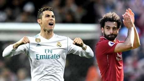 Cristiano Ronaldo e Mohammed Salah são os principais nomes da decisão; veja galeria da trajetória dos craques