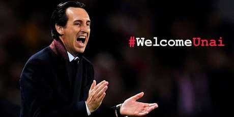 Unai Emery é o novo treinador do Arsenal (Foto: Reprodução)