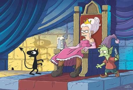 Essa princesa aí vai ser muito louca, hein...