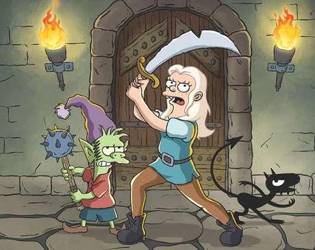 Ué, o Bart Simpson ficou verde???