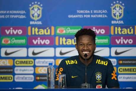 Fred não escondeu a emoção por disputar sua primeira Copa do Mundo