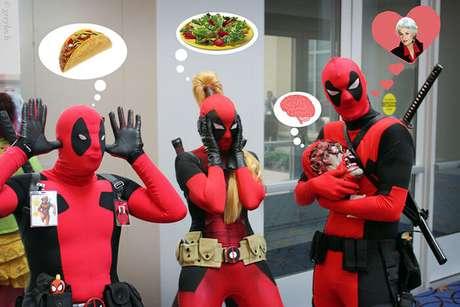 Se não for pra ir ver Deadpool no cinema assim... Nem vou!