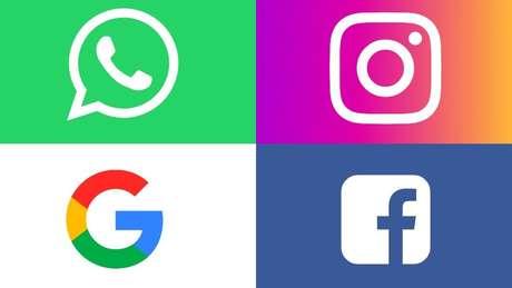 Além do Google, o Facebook e duas companhias pertecentes à ele, o Instagram e o Whatsapp, foram denunciadas