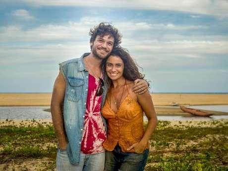 """Em """"Segundo Sol"""", Luzia (Giovanna Antonelli) e Beto (Emilio Dantas) transam"""